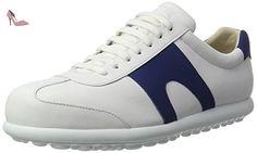 Camper Pelotas Xl, Sneakers Basses Homme, Blanc (White Natural 001), 42 EU - Chaussures camper (*Partner-Link)