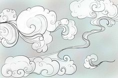 Oriental Clouds by ButterflyXSoul.deviantart.com on @DeviantArt