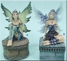 fairy figurines - Google Search Fairy Figurines, Princess Zelda, Disney Princess, Tinkerbell, Fantasy Art, Disney Characters, Fictional Characters, Rock, Peter Pan