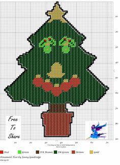 Ornament Smiley Tree