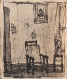 James Castle Inspiration to sketch the girls black chair and desk in the classroom/office Love Art, All Art, James Castle, Castle House, Love Illustration, Outsider Art, French Artists, State Art, Art Therapy