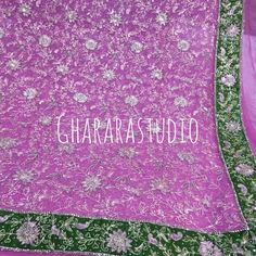 Intricate handcraft by our expert people makes every Gharara look absolutely stunning Deliver worldwide. Complete stitched.  #Gharara #ghararastudio #ghararastudiobyshazia #ghararablogger #handcrafted #embroidery #embroideryart #dupatta #instafashion #instapic #bridalgharara #wedding #weddingday #pinkandgreen #customised #pickyourcolour #orderonline #zari #resham #khadadupatta #fashion #fashionista #fashionlover #ghararadesigns #fashionable #fashionblogger #fashionpost #fashionillustration…