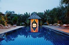 Villa Layan, Phuket, Thailand. Beach Haven, Phuket Thailand, Villa, Outdoor Decor, Home, Ad Home, Homes, Fork, Villas