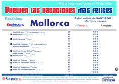 Las vacaciones mas felices sep-oct. Hoteles en Mallorca salidas desde Santiago de Compostela - http://zocotours.com/las-vacaciones-mas-felices-sep-oct-hoteles-en-mallorca-salidas-desde-santiago-de-compostela/