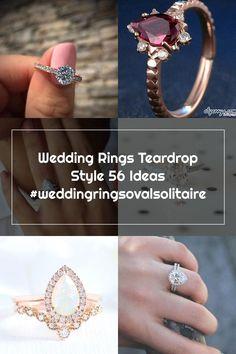 Wedding Rings Teardrop Style 56 Ideas #weddingringsovalsolitaire Wedding Rings Teardrop, Engagement Rings, Crystals, Diamond, Ideas, Jewelry, Style, Enagement Rings, Swag