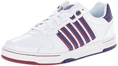 KSwiss Womens Jackson Fashion Sneaker WhiteParachute PurpleBeet Red 9 M US * Want to know more, click on the affiliate link Amazon.com.