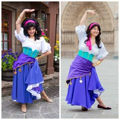 Esmeralda Costume Ideas | Halloween Costumes - YouTube |Diy Esmeralda Costume
