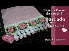 Passo a Passo Barrado Bailarina por JNY Crochê. Link download: http://www.getlinkyoutube.com/watch?v=PS9RnjHmtGk