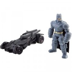 Collect Batman's Batmobile with an all-new look based on the new Batman v Superman movie with the Hot Wheels Batman v Superman Batman & Batmobile set. See full review on TTPM.com