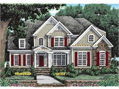 New American , 4 Bedroom , 2 Story  This handsome Southern Colonial home will have special appeal to active and growing families. There's lots of space and lots of room for expansion in this layout.