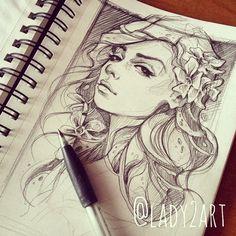 Watch_your_back illustration sketch. on Behance