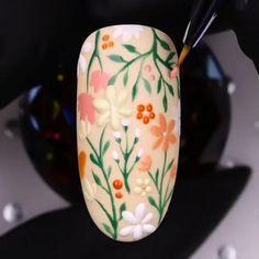 Nail Art Designs Videos, Creative Nail Designs, Nail Art Videos, Simple Nail Art Designs, Nail Art Hacks, Nail Art Diy, Diy Nails, Fake Gel Nails, Glitter Nails