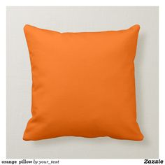 This Burnt Orange color pillow will look fabulous with more of this stores pillows, serving trays, picture frames and light switches that match in the same Burnt Orange color. Size: Throw Pillow x Gender: unisex. Orange Throw Pillows, Red Pillows, Colorful Pillows, Orange Cushions, Decor Pillows, Accent Pillows, Modern Pillows, Decorative Throws, Quartos