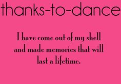 Baylie will remember all the good times with her class and Miss Lauren at Shannon's School of Dance.