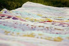 pleated strip quilt - see kate sew