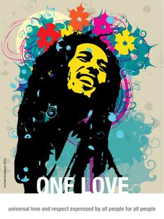 ☯☮ॐ American Hippie Quotes ~ One Love, Bob Marley