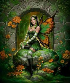 Fairy faery butterfly fantasy