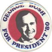 old political button