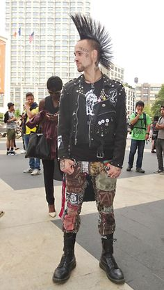 Male punk September 10th, 2013 at Lincoln Center ny