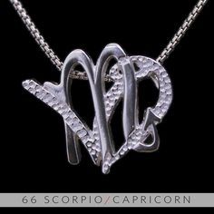 The Scorpio/Capricorn Unity Pendant is a beautiful and meaningful way to share and express the love between a Scorpio and Capricorn. All Silver Unity Pendants are cast in Bronze with a thick Sterling Finish and come with a SIlver finished necklace. Scorpio Sun Sign, Scorpio And Capricorn, Capricorn Tattoo, Zodiac Signs Scorpio, Scorpio Woman, Capricorn Compatibility, Scorpio Relationships, Relationship Tattoos, Scorpio Season