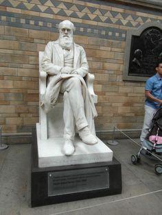 Mr Darwin I presume! @NHM_London