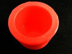 Silikonform  Zylinder,glatt von Luflom-Design auf DaWanda.com