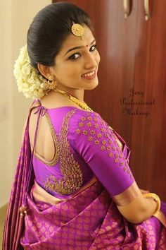 super Ideas for embroidery blouse designs new Wedding Saree Blouse Designs, Pattu Saree Blouse Designs, Blouse Designs Silk, Designer Blouse Patterns, Peacock Blouse Designs, Hand Work Blouse Design, Simple Blouse Designs, Stylish Blouse Design, Indiana