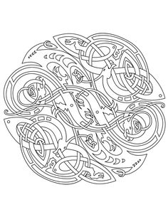 mandalas to print and color for adults | Celtic: Vector Colouring Book by Ikue on deviantART