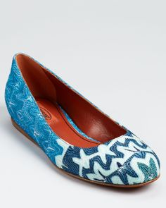 obsessed with these missoni flats