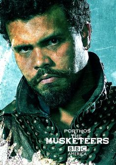 The Musketeers - Porthos, BBC America poster.