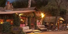 Pure romance tucked away in the Santa Barbara hills. Cold Spring Tavern.
