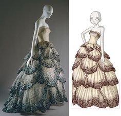 Dior Gown... how awesome would it be to wear this