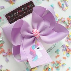 Your place to buy and sell all things handmade Making Hair Bows, Diy Hair Bows, Diy Bow, Diy Ribbon, Ribbon Bows, Disney Cheer Bows, Bow Shop, Boutique Hair Bows, Unicorn Hair
