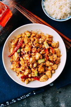 Kung Pao Chicken by thewoksoflife #Chicken #Kung_Pao #Healthy