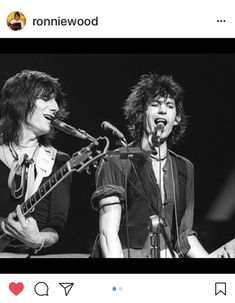 Rolling Stones | Just posted by Ronnie Happy Birthday dear KEITH ❣️