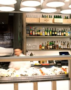 Island Creek Oyster Bar in Kenmore Square - from the same people behind Eastern Standard and Lineage