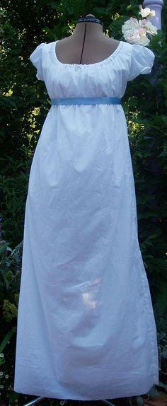Simple Regency Dress