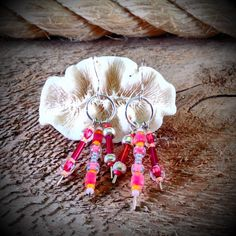 Party Pink Earrings by JewelryOohShiny on Etsy