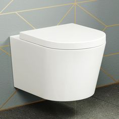 Lyon II Wall Hung Toilet inc Luxury Soft Close Seat