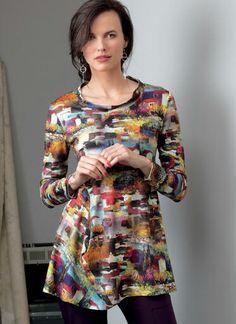V9300   Misses' Top   Vogue Patterns