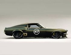 1969 Ford Mustang GT #mustangclassiccars