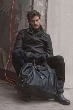 Jamie Dornan - It was a sad day when his character died on Once Upon a Time.