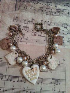 Beatles inspired charm bracelet by Tiffany Lane Garstang