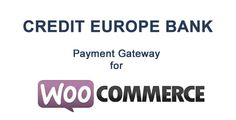 Review WooCommerce Credit Europe Bank Gatewaylowest price for you. In addition you can compare price with another store and read helpful reviews. Buy