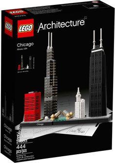 LEGO 21033 ARCHITECTURE CHICAGO - Tutte le ultime novità dal mondo LEGO in pronta consegna su Vendiloshop.it #lego #offerte #giocattoli #vendiloshop