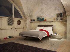 Matthew Hilton — Hepburn Oak side table £210 from haus.co.uk Bed 160cm £2500 or 180cm £2700