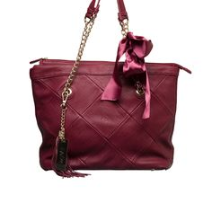 This bag has a touch of whimsy to it. The colour seems to be in this season, if you care about that. -- the Izzy & Ali Blake Tote from LittleBlackBag