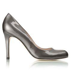 Grey Patent Shilo Shoe, L.K. Bennett