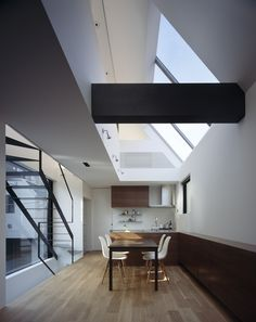 BRUN by APOLLO Architects & Associates - Look. At. That. Stair... Cool.