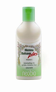 Neobio: Henna Balsam - CLASSICS (200 ml). In der kalten Jahreszeit bei trockenen Haaren.